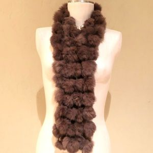 Vintage fur scarf